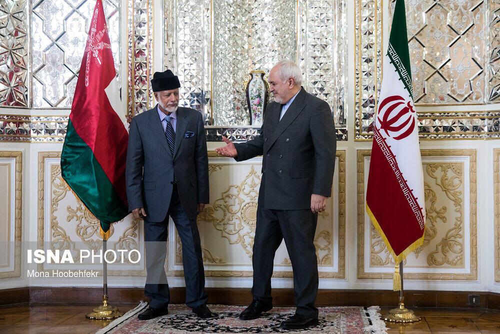 وزرای امور خارجه ایران و عمان