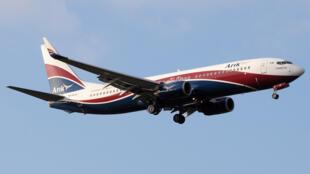 Un avion de la compagnie Arik Air.