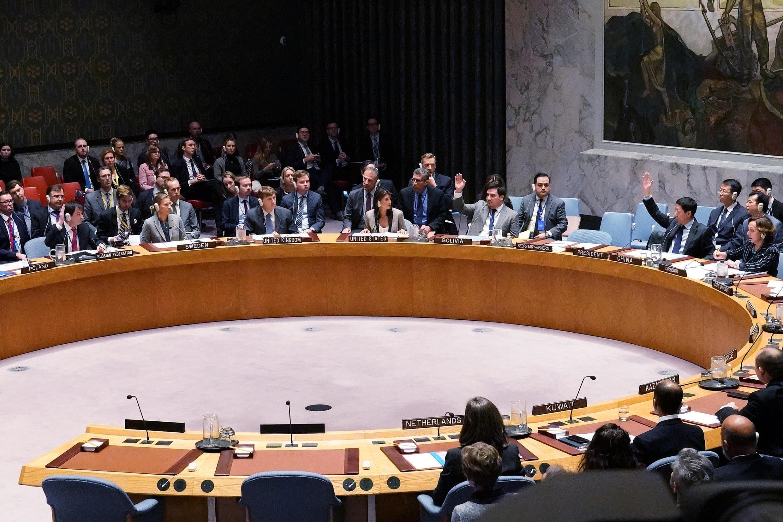 Заседание Совбеза ООН по поводу конфликта в Керченском проливе. 26 ноября 2018 г.