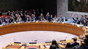 Salle du Conseil de sécurité de l'ONU à New York le 26 novembre (image d'illustration).