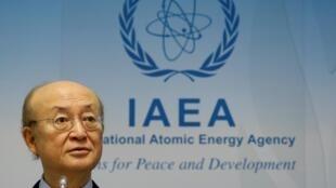 کنفرانس خبری یوکیا آمانو، مدیر کل آژانس بینالمللی انرژی اتمی در پایان جلسه هیئت مدیره این سازمان در ٤ مارس ٢٠۱٩