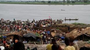 Marché de Mbandaka, capitale de la province de l'Equateur, RDC (photo d'illustration).