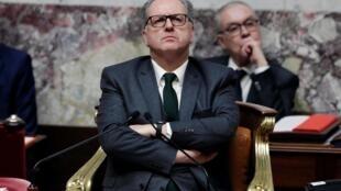 Le président de l'Assemblée nationale, Richard Ferrand, à l'ouverture des débats, le 17 février 2020.