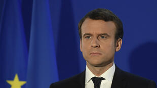 Ông Emmanuel Macron tại Paris ngày 07/05/ 2017 sau khi đắc cử tổng thống Pháp