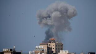 El ejército israelí anunció haber atacado el martes 25 nuevas posiciones militares de Hamas en la Franja de Gaza.