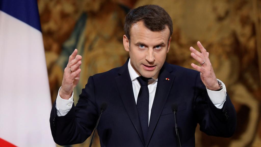 امانوئل ماکرون، رئیس جمهوری فرانسه