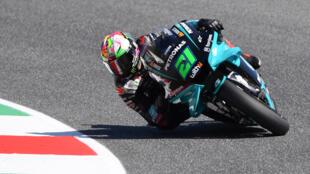 Franco Morbidelli fastest in practice