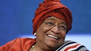 Ellen Johnson Sirleaf, ganhadora do prêmio Nobel da Paz de 2011.