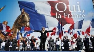 مارین لوپن، نامزد جبهه ملی فرانسه در انتخابات ریاست جمهوری