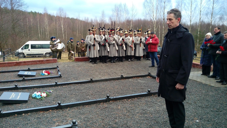 Посол Франции в Беларуси Дидье Канесс
