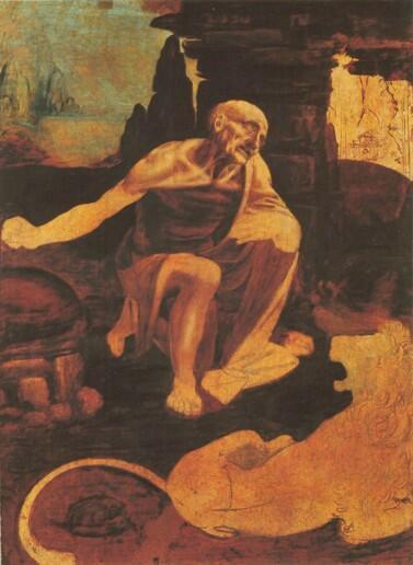 """达芬奇的"""" 圣 纪约姆"""" 103x 75厘米,1482年 梵蒂冈博物馆"""