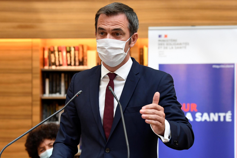 Bộ trưởng Y tế Pháp Olivier Véran. Ảnh ngày 21/07/2020.