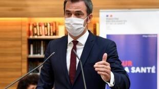 Le ministre de la Santé français Olivier Véran, lors de la dernière session du Ségur de la Santé à Paris, le 21 juillet 2020.