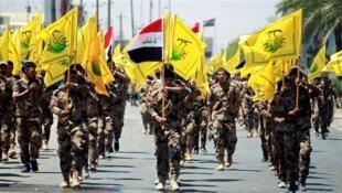 حشد الشعبی به معنایِ «بسیج مردمی» به نیروی شبه نظامی عراق گفته میشود که  از به هم پیوستنِ حدود ۴۰ گروه تشکیل شده است.