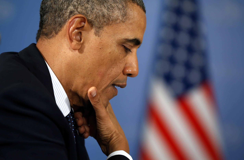 Barack Obama doit revenir sur la volonté des Etats-Unis d'obtenir une résolution mentionnant le chapitre VII de la charte de l'ONU.