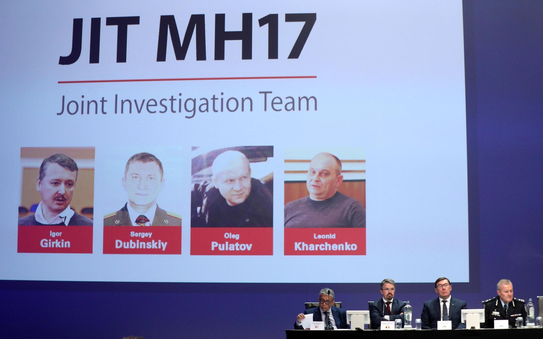 Présentation des conclusions de l'enquête internationale sur le crash, à Nieuwegein, aux Pays-Bas, mercredi 19 juin 2019. Trois Russes et un Ukrainien (photo) seront jugés à partir de ce lundi