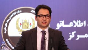 محمد هارون چخانسوری، سخنگوی رئیس جمهوری افغانستان