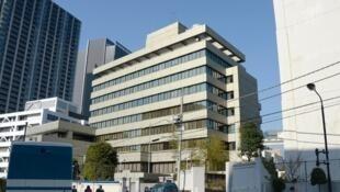 Le bâtiment qui fait office d'ambassade de Corée du Nord à Tokyo.
