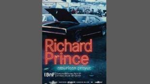 L'affiche de l'exposition Richard Prince à la BNF.