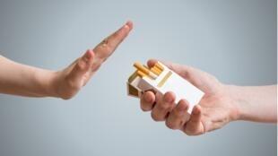 illustration tabac arrêter cigarettes