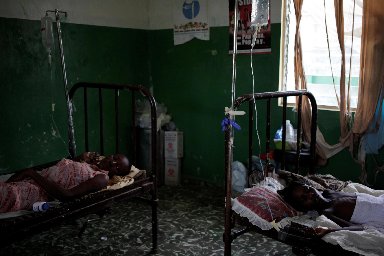 Wagonjwa waliolazwa nchini Somalia kutokana na ugonjwa wa kipindupindu