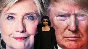 根据预测,近一亿美国人观看希拉里与特朗普26日晚间电视辩论。