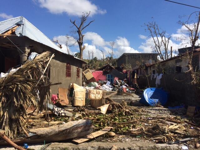 Municipios devastados de Port-Salut y Roche-à-Bateau.