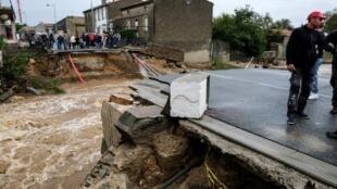 No sul de França, inundações em Aude