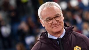 Claudio Ranieri took over from Eusebio Di Francesco at Roma.