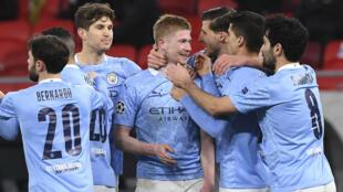 Football - Kevin de Bruyne_match Manchester City_Borussia_AP21075744011195