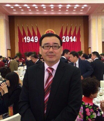 楊恆均(楊軍)2014年出席中共建政55周年國宴。