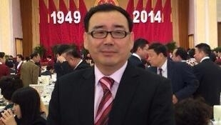 杨恒均(杨军)2014年出席中共建政55周年国宴。