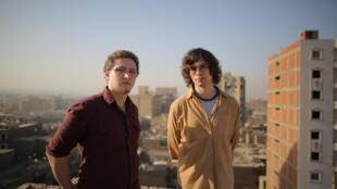 Les deux entrepreneurs, Karim Aboul-Enein et Sébastien Marty.