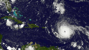 Esta imagem, obtida pelo projecto GOES da NASA mostra o furacão a 5 de Setembro de 2017.