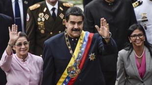 Nicolas Maduro le 10 août 2017.