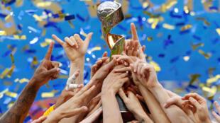 Les États-Unis ont remporté la Coupe du monde féminine de football face aux Pays-Bas, le 7 juillet 2019 à Lyon.