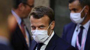 Shugaban Faransa Emmanuel Macron,