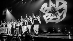 Concert réunissant quelques stars du label Bad Boy Records en 2016