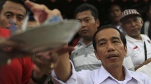 Le nouveau président indonésien, Joko Widodo, avait promis de faire des droits de l'homme une priorité.