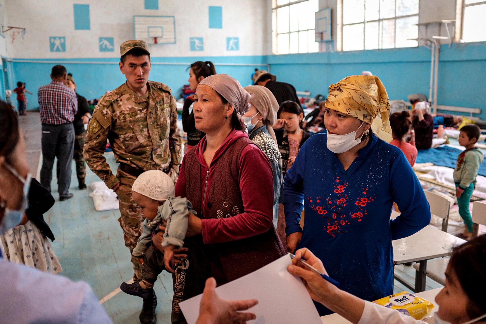 Kirghizistan Tadjikistan