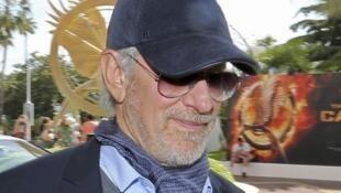 Steven Spielberg, le réalisateur américain et président de jury du 66e Festival de Cannes, est arrivé ce 14 mai sur la Croisette, la veille de la cérémonie d'ouverture.