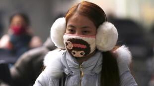 北京發布入冬第一個霧霾重度污染警告
