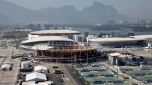 Le stade olympique de Rio de Janeiro photographié le 14 juillet 2016.