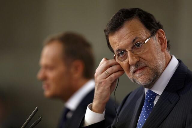 Waziri mkuu wa Uhispania Mariano Rajoy.
