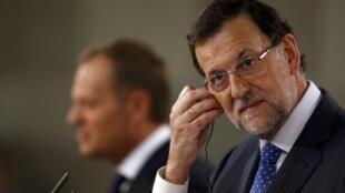O Primeiro Ministro espanhol, Mariano Rajoy.