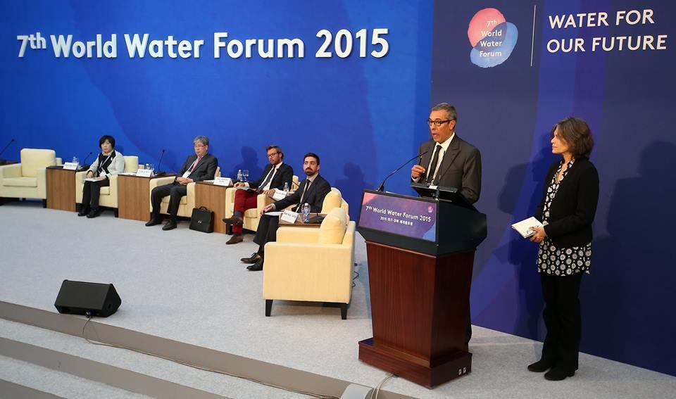 Fórum Mundial da Água acontece até o dia 17 de abril em Daegu e Gyeongbuk, na Coreia do Sul.