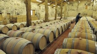 A French winery