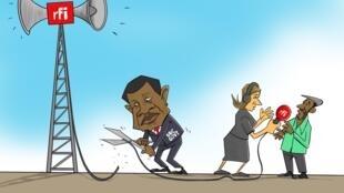 DRC:Mamlaka nchini DRC yafunga mitambo ya RFI na kusitisha kibali cha ripota wake, 03/01/2019.