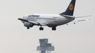 Un des Boeing 737 de la compagnie Lufthansa.