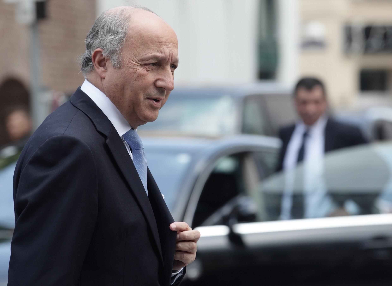 Министр иностранных дел Франции Лоран Фабиус, Вена, 13 июля 2014 г.